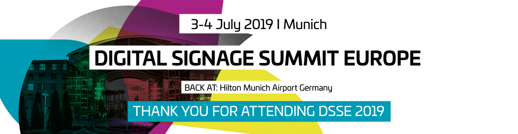 Digital Signage Summit Europe - Conference for Digital Signage and DooH